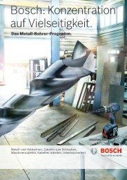Bosch: Konzentration auf Vielseitigkeit.