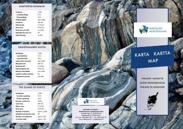 karta kartta map - Kimitoön kommun