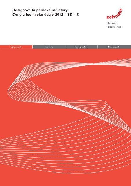 Designové kúpeľňové radiátory Ceny a technické ... - AQUATERM