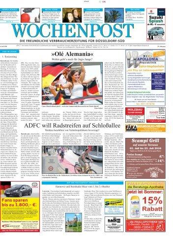 Duesseldorf Sued 27-10 - Wochenpost