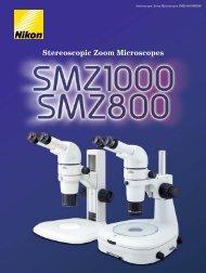 Stereoscopic Zoom Microscopes - Nikon Metrology