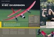X-EC DIVERSION - High Definition Radio Control