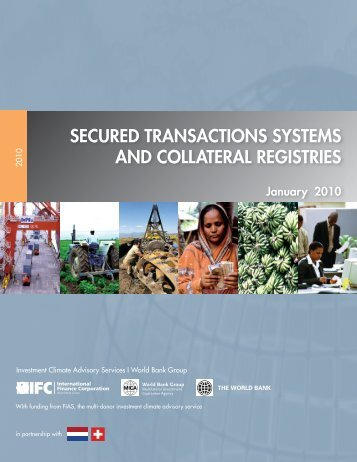 Secured Transactions Systems and Collateral Registries (January ...