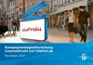 Case-study: CosmosDirekt (clipfish) - Wirkstoff TV