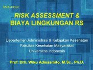 risk assessment lingkungan rs - Blog Staff UI - Universitas Indonesia
