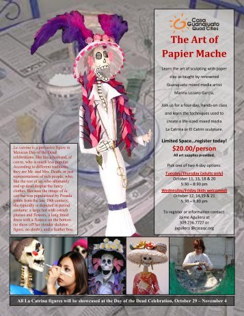 The Art of Papier Mache