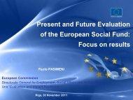 evaluations - ES fondi