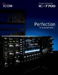 IC 7700 Brochure - K4SX