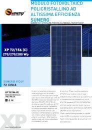 Modulo fotovoltaico policristallino - Sunerg