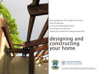 Designing and Constructing Your Home booklet - District Council of ...
