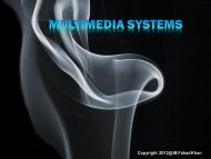 Copyright 2012@ M.Fahad Khan - University of Engineering and ...