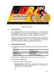 Gesamte Ausschreibung 2013 - Breitensport bei rad-net.de