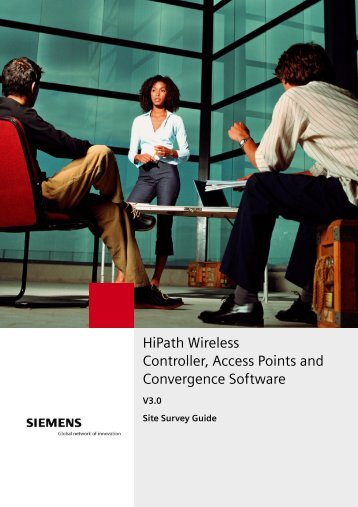 HiPath Wireless Controller, Access Points and ... - Experts Wiki