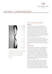 "fact sheet 3. cOVeReD BOND BRIefs ""covered ... - Henry Davis York"