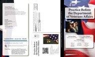 Practice Before the Department of Veterans Affairs - Pennsylvania ...