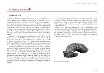 A ritroso nei secoli (Paola Bottini) - Precedente versione del sito