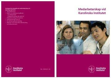 Riktlinjer för medarbetarskap vid KI, pdf - Internwebben - Karolinska ...