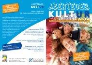 ABENTEUER KULT UR - Fachhochschule des Mittelstands