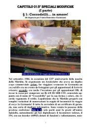 Capitolo 013° Speciali modifiche I parte ''Coccodrilli'' in ... - 3Rotaie.it