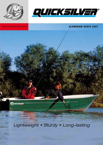 Lightweight • Sturdy • Long-lasting - Mercury Outboards