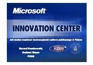 Microsoft Innovation Center - Centrum Innowacji Microsoft
