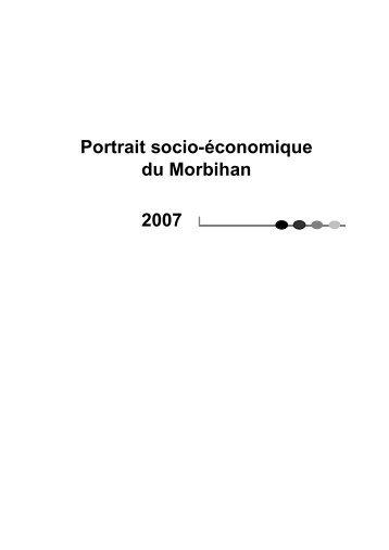 Portrait socio-économique du Morbihan 2007 - Conseil général du ...