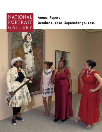 Annual Report - National Portrait Gallery - Smithsonian Institution