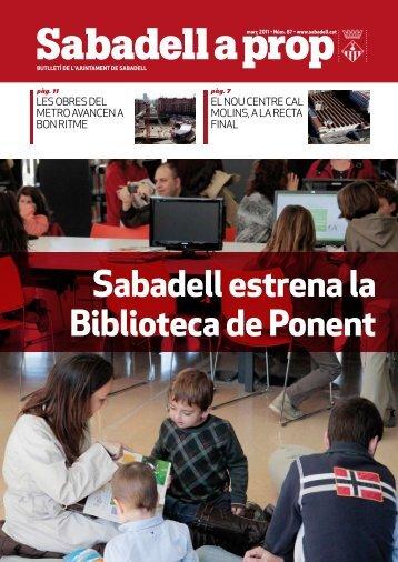 Sabadell a prop - Ajuntament de Sabadell