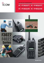VHF AND UHF TRANSCEIVERS - Dannel Web Design