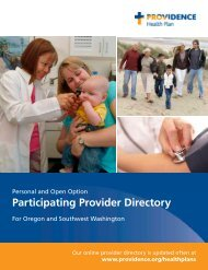 Participating Provider Directory - eHealthInsurance.com