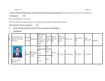 Profile of Engineering