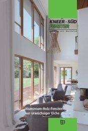 Aluminium-Holz-Fenster aus urwüchsiger Eiche - Kneer GmbH
