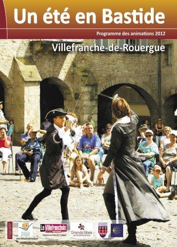 Hors série magazine municipal été 2012 - Villefranche-de-Rouergue