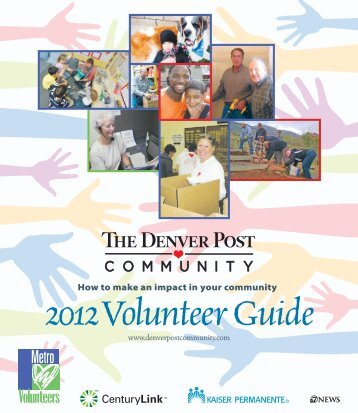 How to make an impact in your community - Denver Public Schools