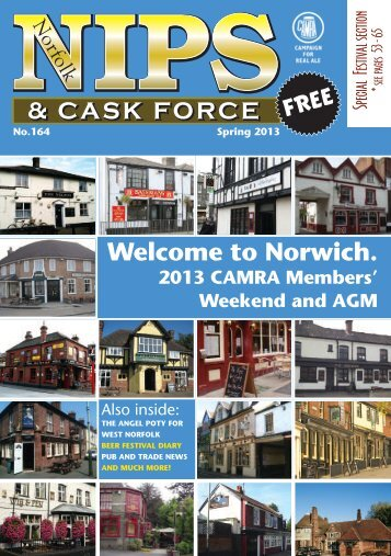 Welcome to Norwich. - Norwich and Norfolk CAMRA