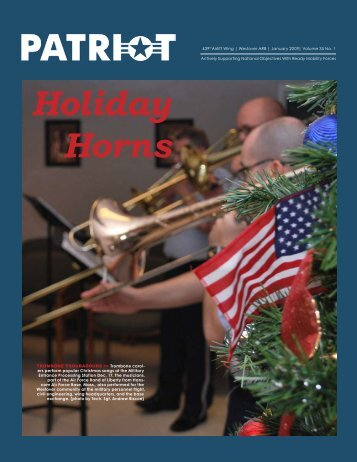 Holiday Horns - Westover Air Reserve Base, Mass