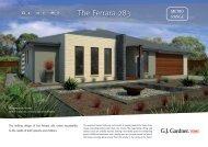 The Ferrara 283 - G.J. Gardner Homes