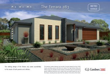 The Ferrara 283 - G.J. Gardner Homes