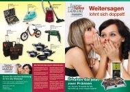 Leser Leser werben - Aboservice der Sächsischen Zeitung