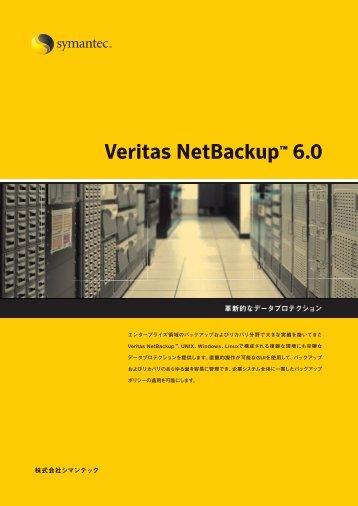 Veritas NetBackup 6.0
