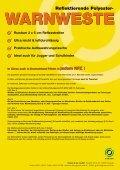 WARNWESTE Für Ihre Sicherheit ... Reflektierende Polyester - Grüner - Seite 2
