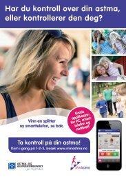 Har du kontroll over din astma, eller kontrollerer den deg?