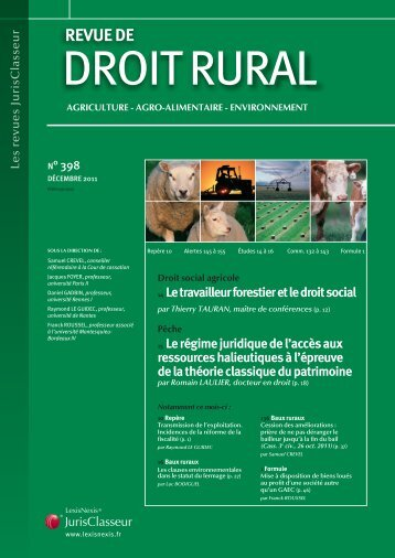 REVUE DE - LexisNexis