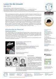 Pressemitteilung - Deutsche Akademie für Kinder