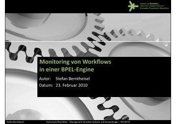 Projektvortrag [PDF] - Labor für Verteilte Systeme - Hochschule ...