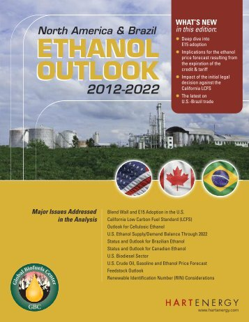 ETHANOL OUTLOOK ETHANOL OUTLOOK - Hart Energy