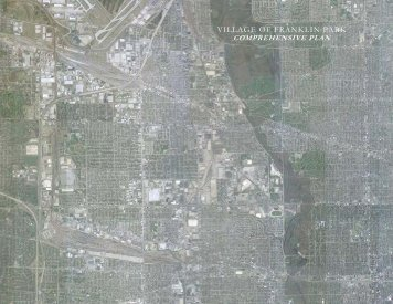 Comprehensive Plan - Village of Franklin Park