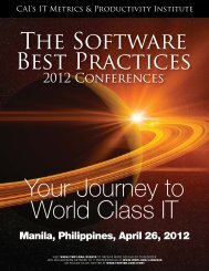 2012 Conference MANILA.indd - Computer Aid, Inc.
