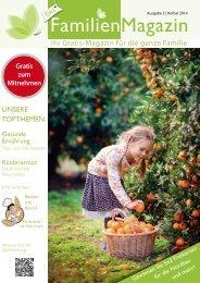 Das FamilienMagazin - Herbstausgabe
