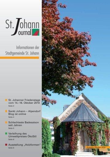 1,40 MB - Stadtgemeinde St. Johann im Pongau
